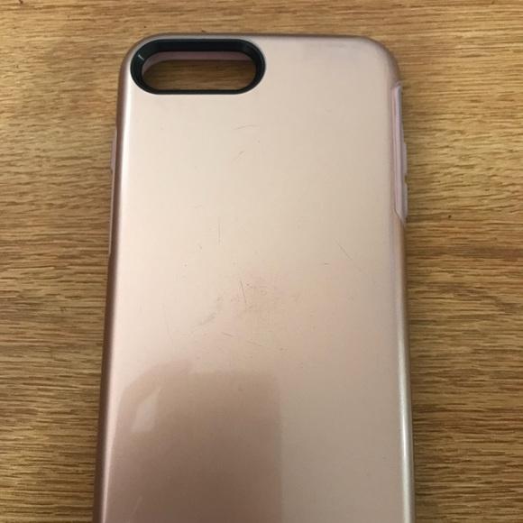 IPhone 7 Plus Rose Gold Otter Box Case